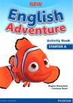 New English Adventure Starter A AB+Song CD
