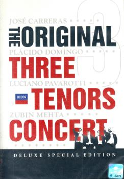The Original. Three Tenors Concert (DVD) Rome 1990 Pavarotti, Carreras, Domingo