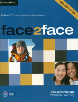 Face2Face (2Ed) Pre-Intermediate Workbook + key