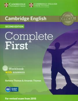 Complete First (2Ed) Workbook + answers + CD-ROM