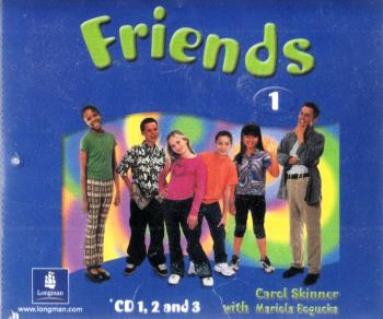 Friends 1 Cl CD x 3 лцн